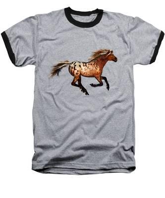 An Appaloosa Called Ginger Baseball T-Shirt