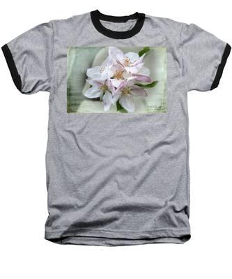 Apple Blossoms From My Hepburn Garden Baseball T-Shirt
