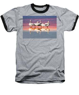 As The Sun Goes Down Baseball T-Shirt