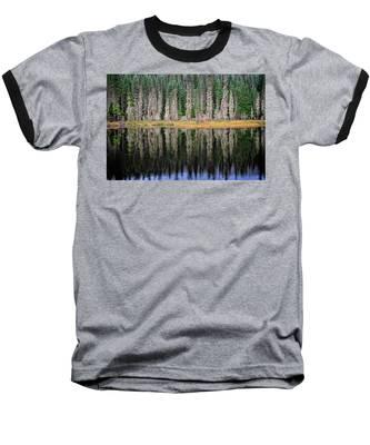Beauty In Idaho Bog Baseball T-Shirt