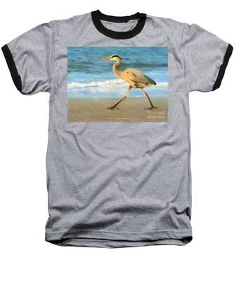 Bird With A Purpose Baseball T-Shirt