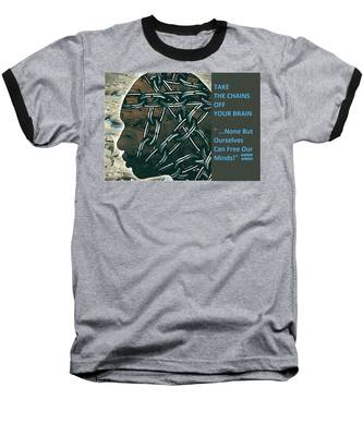 Brain Chains Baseball T-Shirt