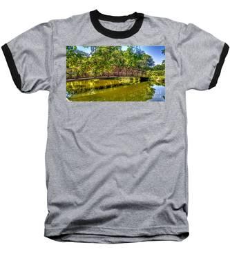 Bridge Over Delaware Canal At Colonial Park Baseball T-Shirt