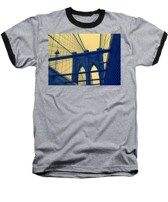New York City's Famous Brooklyn Bridge Baseball T-Shirt
