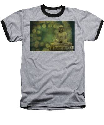 Buddha Light Gold Baseball T-Shirt