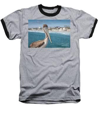 California Pelican Baseball T-Shirt