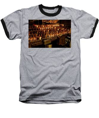 Candle Offerings St. Patrick Cathedral Baseball T-Shirt