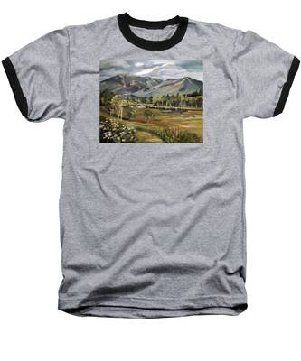Cannon Mountain From Sugar Hill New Hampshire Baseball T-Shirt