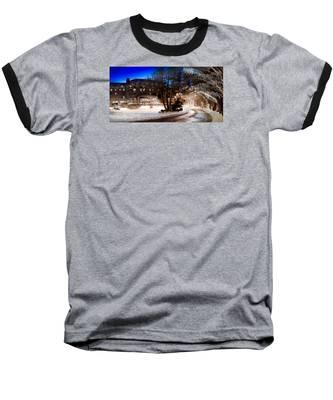 Celebrate The Winter Night Baseball T-Shirt