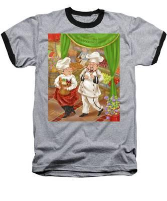 Chefs Go To Market IIi Baseball T-Shirt