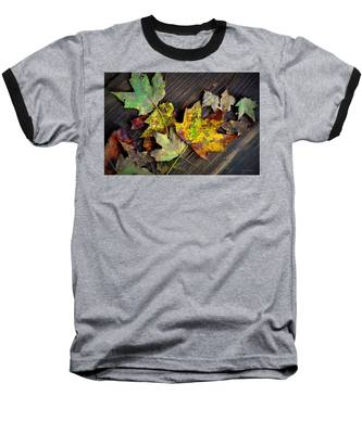 Chromatic Finale Baseball T-Shirt by Andrea Platt