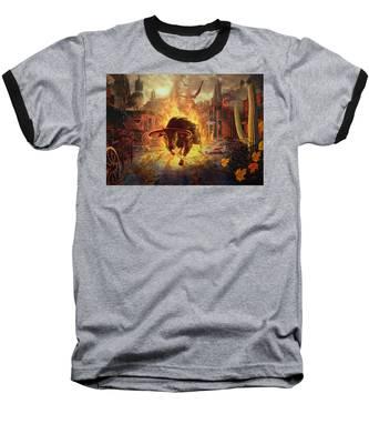 City Bull City Baseball T-Shirt