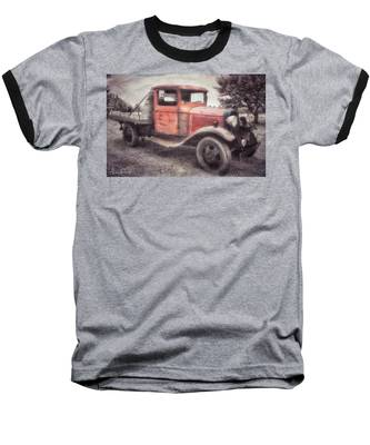 Baseball T-Shirt featuring the photograph Colorful Past by Andrea Platt