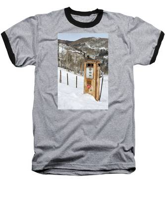 Conoco In The Snow Baseball T-Shirt