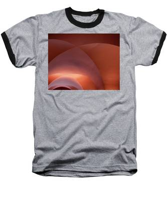 Coral Arched Ceiling Baseball T-Shirt