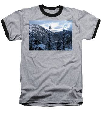 Crystal Mountain Dawn Baseball T-Shirt