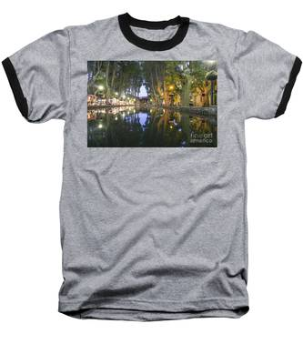 Baseball T-Shirt featuring the photograph Cucuron Village Provence  by Juergen Held