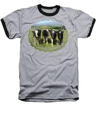 Curious Cows Baseball T-Shirt
