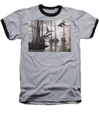 Cypress Bayou Neighbors Baseball T-Shirt