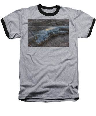Delaware Water Gap In Winter #6 Baseball T-Shirt