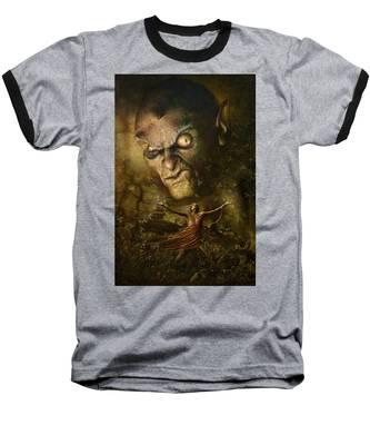 Demonic Evocation Baseball T-Shirt