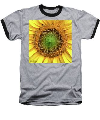 Baseball T-Shirt featuring the photograph Dewdrops On The Sun by Andrea Platt