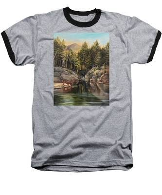 Down By The Pemigewasset River Baseball T-Shirt