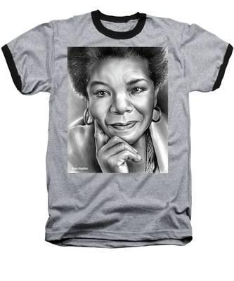 Dr Maya Angelou Baseball T-Shirt