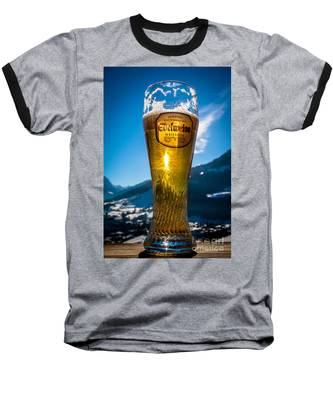 Edelweiss Beer In Kirchberg Austria Baseball T-Shirt