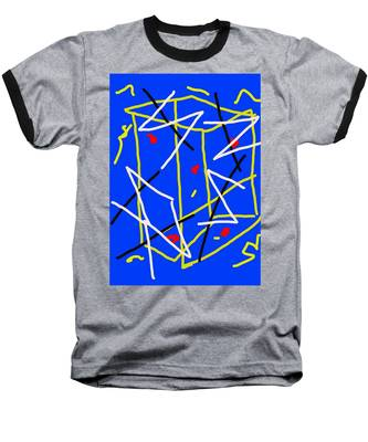 Electric Midnight Baseball T-Shirt