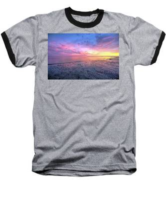 Baseball T-Shirt featuring the photograph End Of The Day. by Evelyn Garcia