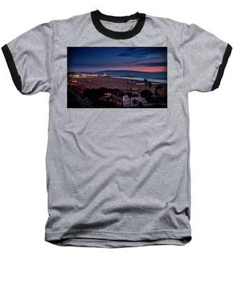 Evening Glow On The Pier Baseball T-Shirt
