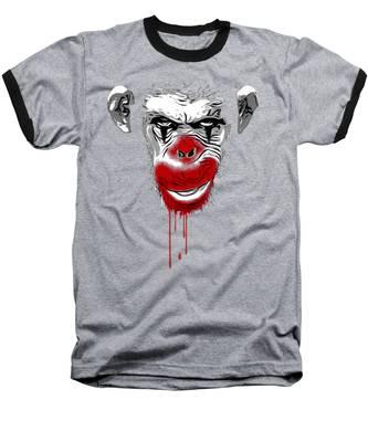 Evil Clown Baseball T-Shirts