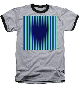 Expanding Heart 2 Baseball T-Shirt
