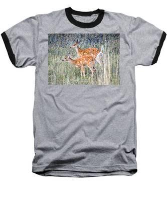 Fawns At Bigfork Baseball T-Shirt
