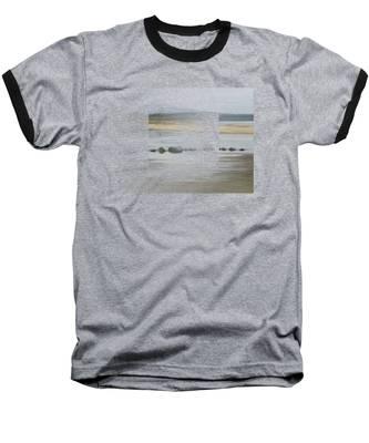 Foggy Day Baseball T-Shirt