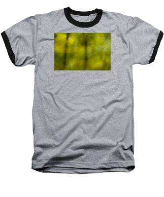 Forest Abstract Reflection Baseball T-Shirt