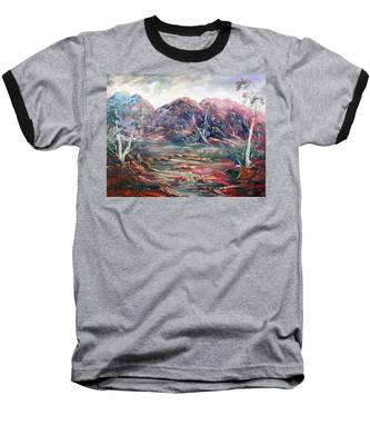 Fountain Springs Outback Australia Baseball T-Shirt