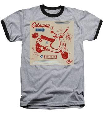 Getaway Weekend Baseball T-Shirt