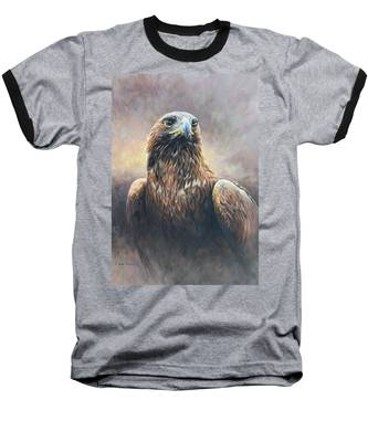 Golden Eagle Portrait Baseball T-Shirt
