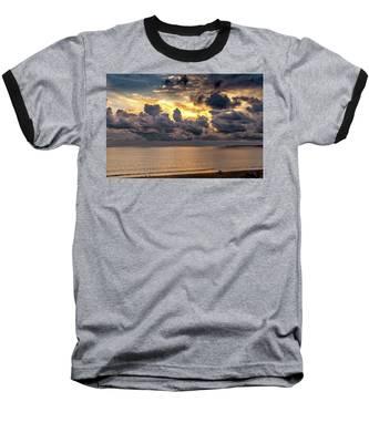 Golden Surf - Point Dume, California Baseball T-Shirt