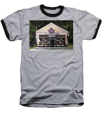 Granville Country Store Front View Baseball T-Shirt