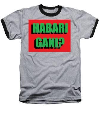 Habari Gani Baseball T-Shirt