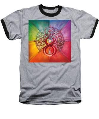 Heart Of Infinity Baseball T-Shirt