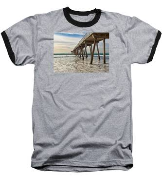 Hermosa Under The Pier Baseball T-Shirt