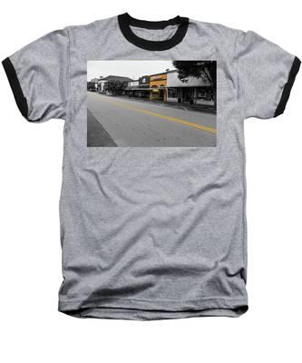 Historic Buford In Selective Color Baseball T-Shirt