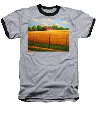 Home On The Farm Baseball T-Shirt