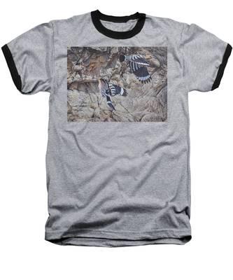 Hoopoes Feeding Baseball T-Shirt