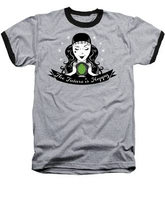 Hoppy Fortune Teller Baseball T-Shirt