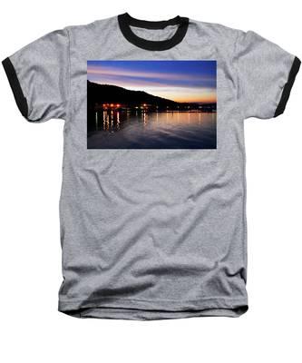 Hot Summers Night Baseball T-Shirt